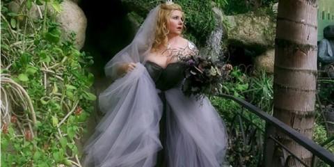 Netradiční svatba na Halloween