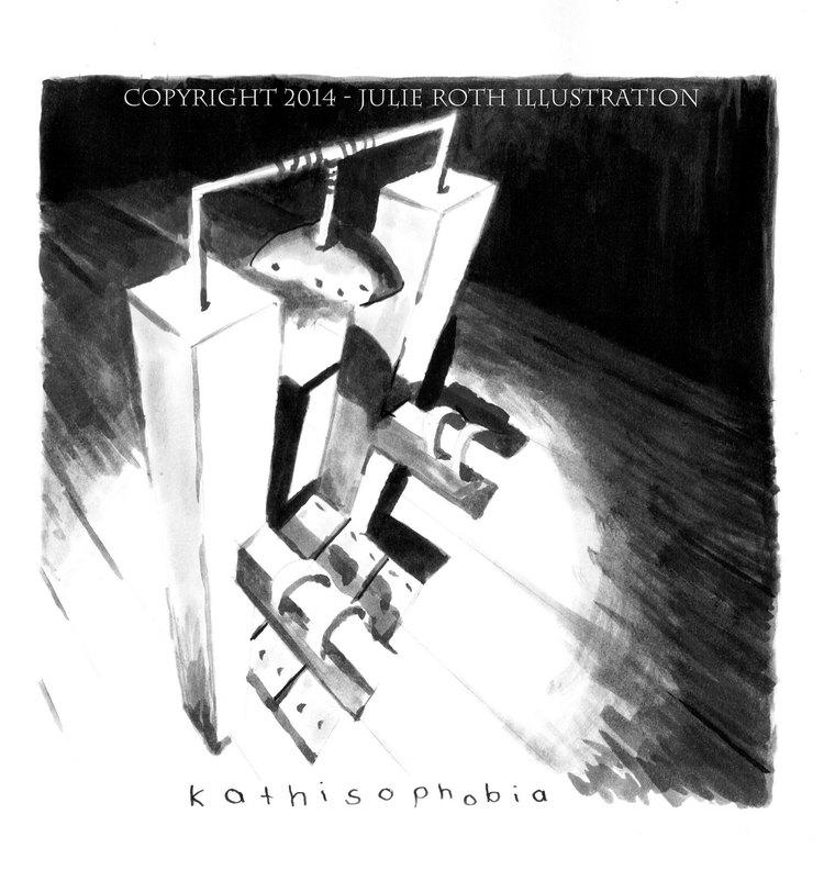Julie Roth - ilustrované fobie