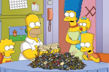 "THE SIMPSONS: When the Simpsons discover a collection of keys to every door in Springfield, Lisa stumbles upon an eerie hidden classroom beneath Springfield Elementary School in the all-new ""500 Keys"" episode of THE SIMPSONS airing Sunday, May 15 (8:00-8:30 PM ET/PT) on FOX.  THE SIMPSONS ™ and © 2011 TTCFFC ALL RIGHTS RESERVED."