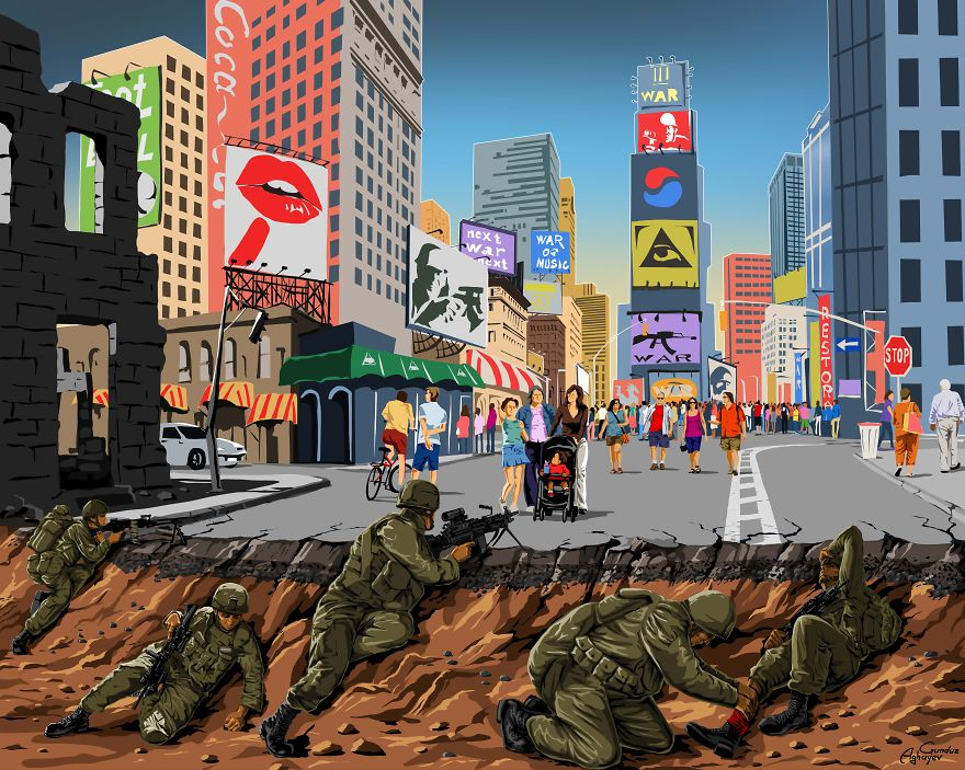 AD-War-And-Peace-New-Powerful-Illustrations-By-Gunduz-Aghayev-03