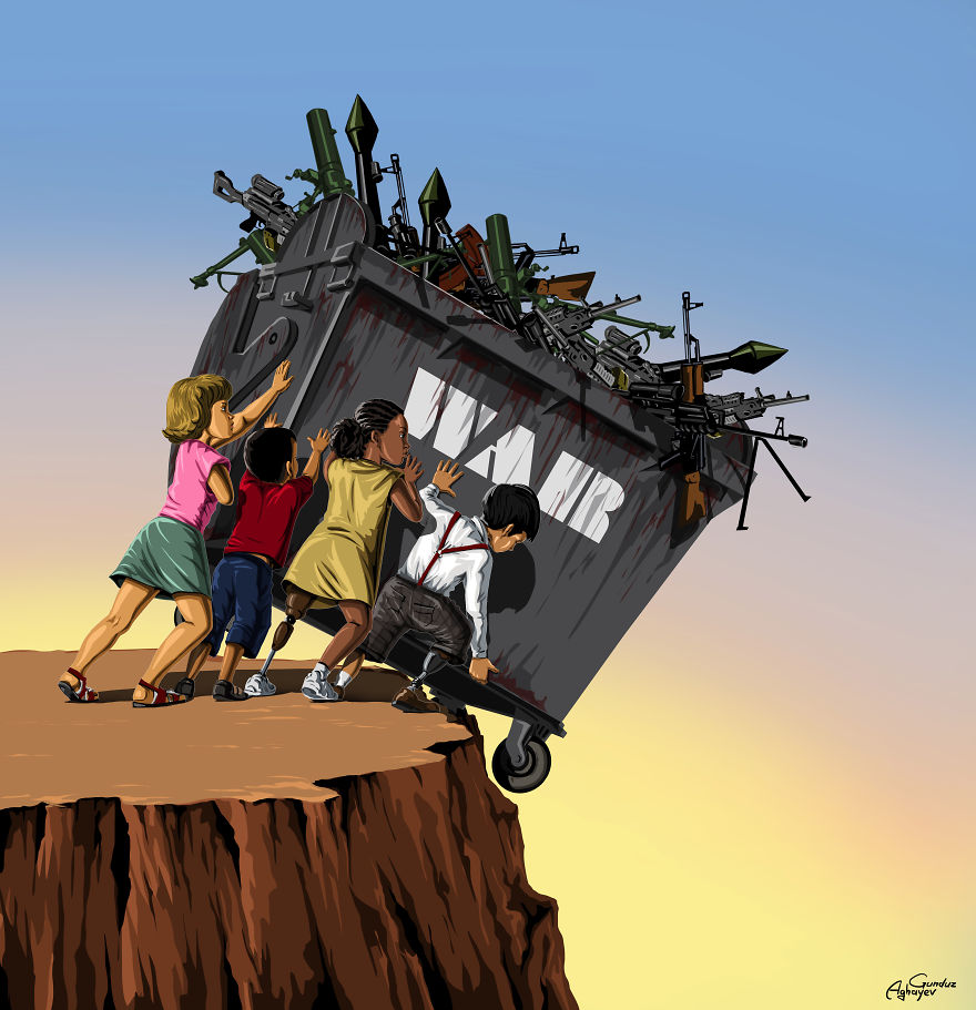 AD-War-And-Peace-New-Powerful-Illustrations-By-Gunduz-Aghayev-09