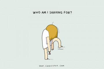 Pro koho se vlastně holím