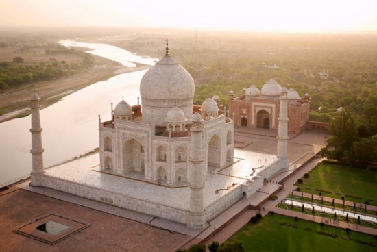 At the Taj though, things were very different.