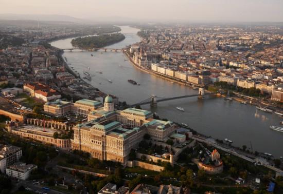 Budapest, a fine city by day..