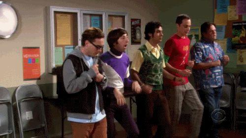 Tahle partička z The Big Bang Theory má o zábavu postaráno.