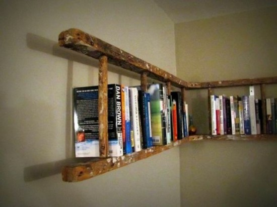wooden-ladder-diy-furniture-wooden-ladder-bookshelf-myself-to-make