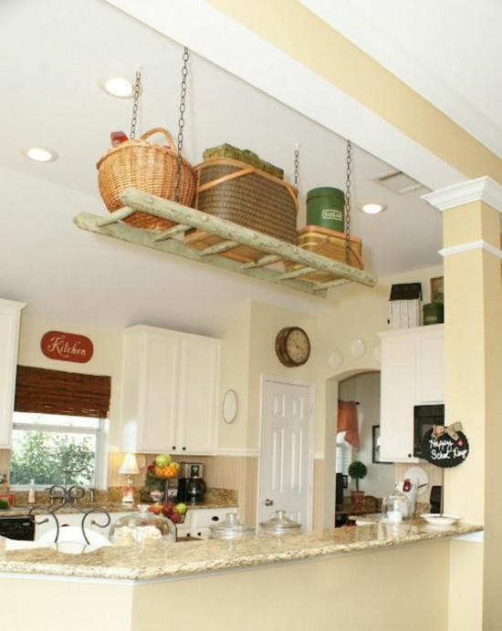 wooden-ladder-rustic-kitchen-set-kitchen-shelf-conductor-wood