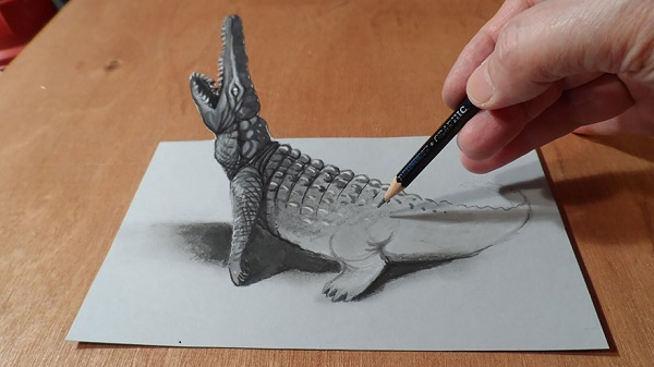 18-Insane-Pencil-Drawings-Crocodile