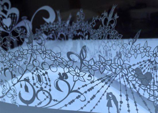 svatební dekorace - Akira Nagaya