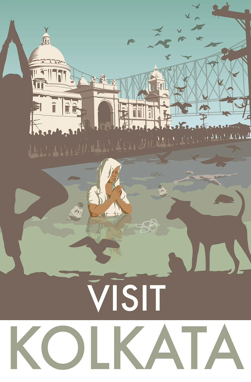 i-decided-to-make-some-accurate-travelling-vintage-posters-kolkata