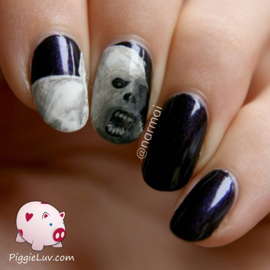 abominable-snowman-monster-nail-art-1