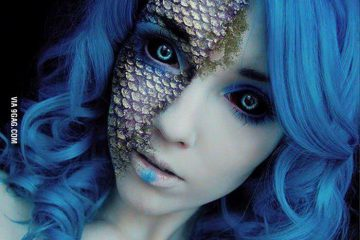 http://9gag.com/gag/aVX9Ynw/beautiful-mermaid-makeup-helen-stifler