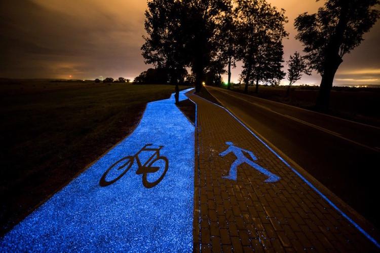glowingbikepathpoland2
