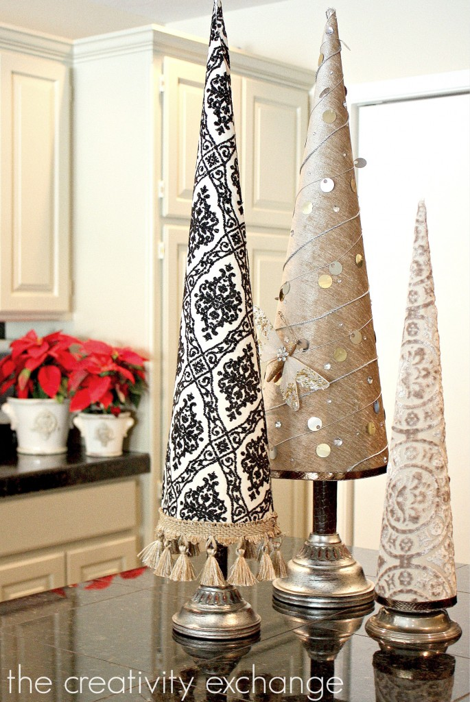 fabric-covered-poster-board-christmas-tree-cones-the-creativity-exchange1-685x1024